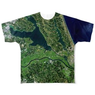 茨城県 稲敷市 Tシャツ 両面 Full graphic T-shirts