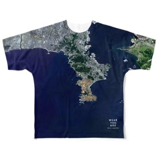 神奈川県 横須賀市 Tシャツ 両面 Full graphic T-shirts