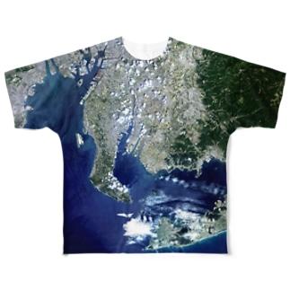 愛知県 西尾市 Tシャツ 両面 Full graphic T-shirts