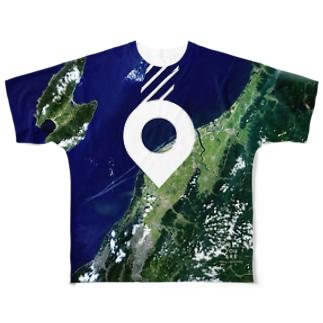 新潟県 燕市 Tシャツ 両面 Full graphic T-shirts