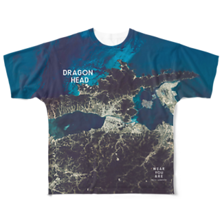 WEAR YOU AREの島根県 松江市 Tシャツ 両面 Full graphic T-shirts