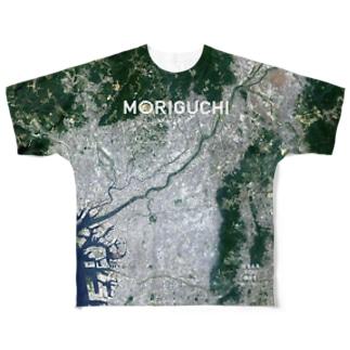 大阪府 守口市 Tシャツ 両面 Full graphic T-shirts