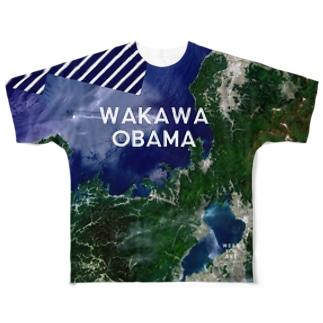 福井県 三方上中郡 Tシャツ 両面 Full graphic T-shirts