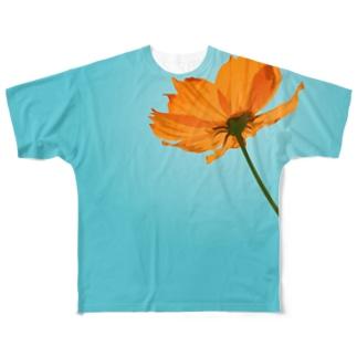 キバナコスモス Full graphic T-shirts