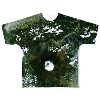 WEAR YOU AREの山梨県 南都留郡 Tシャツ 両面 Full graphic T-shirts