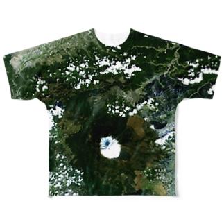 山梨県 南都留郡 Tシャツ 両面 Full graphic T-shirts