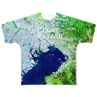 WEAR YOU AREの千葉県 浦安市 Tシャツ 両面 Full graphic T-shirts