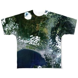 静岡県 Unnamed Road Tシャツ 両面 Full graphic T-shirts