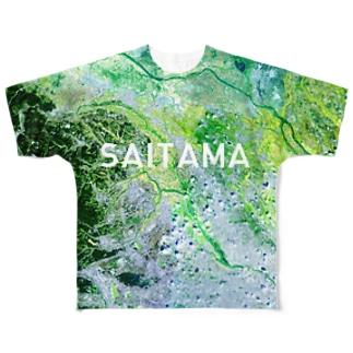 埼玉県 比企郡 Tシャツ 両面 Full graphic T-shirts