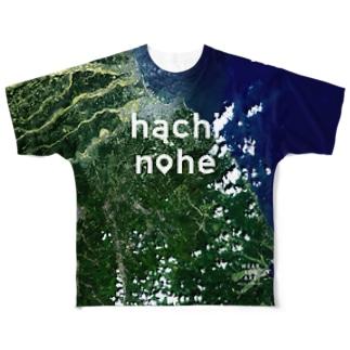 青森県 八戸市 Tシャツ 両面 Full graphic T-shirts