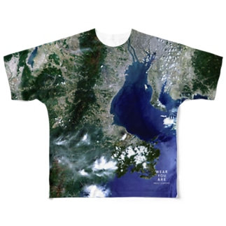 三重県 津市 Tシャツ 両面 Full graphic T-shirts