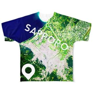 北海道 恵庭市 Tシャツ 両面 Full graphic T-shirts