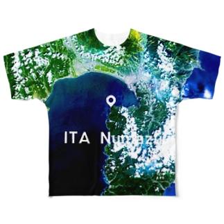 静岡県 沼津市 Tシャツ 両面 Full graphic T-shirts