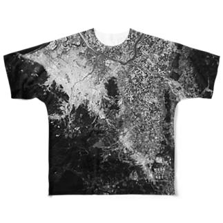 北海道 北広島市 Tシャツ 両面 Full graphic T-shirts