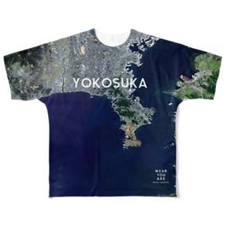 神奈川県 三浦郡 Tシャツ 両面 Full graphic T-shirts