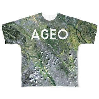 埼玉県 上尾市 Tシャツ 両面 Full graphic T-shirts