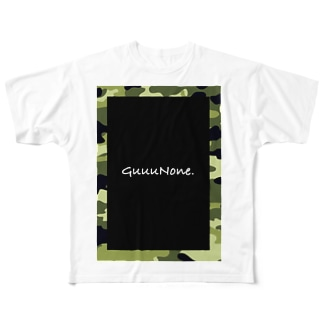 俺のTシャツ【GuuuNone.】カモフラ Full graphic T-shirts