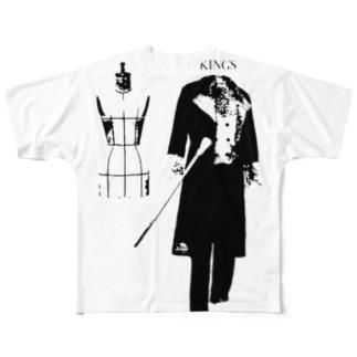 KINGS TC-006 Full graphic T-shirts