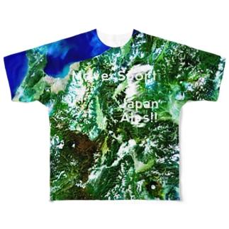 長野県 上田市 Tシャツ 両面 Full graphic T-shirts