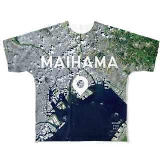 千葉県 袖ケ浦市 Tシャツ 両面 Full graphic T-shirts