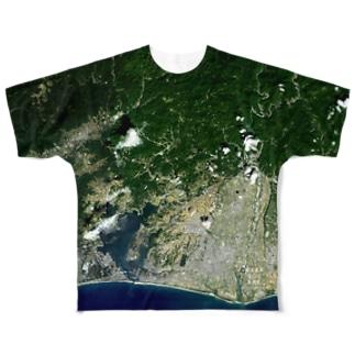 静岡県 浜松市 Tシャツ 両面 Full graphic T-shirts