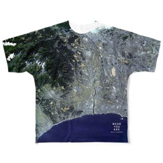 神奈川県 伊勢原市 Tシャツ 両面 Full graphic T-shirts