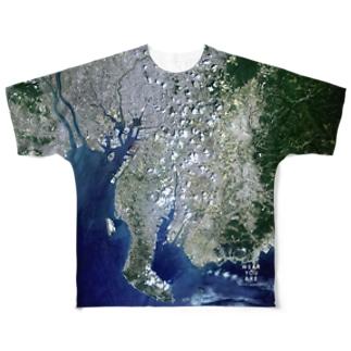 愛知県 知多郡 Tシャツ 両面 Full graphic T-shirts