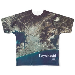 愛知県 豊橋市 Tシャツ 両面 Full graphic T-shirts