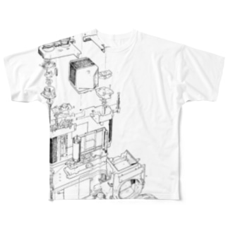 Development_of_camera Full graphic T-shirts