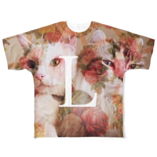 Lucien  Flower Full graphic T-shirts