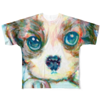 わんちゃん1 フルグラフィックTシャツ