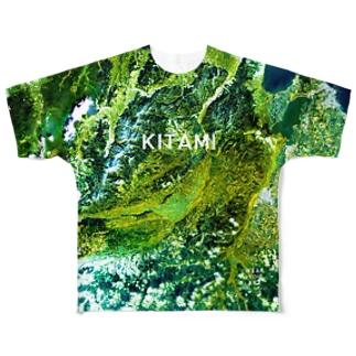 北海道 北見市 Tシャツ 両面 Full graphic T-shirts