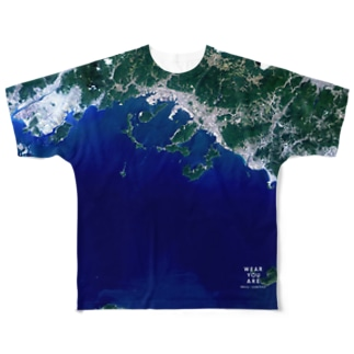 山口県 下松市 Tシャツ 両面 Full graphic T-shirts
