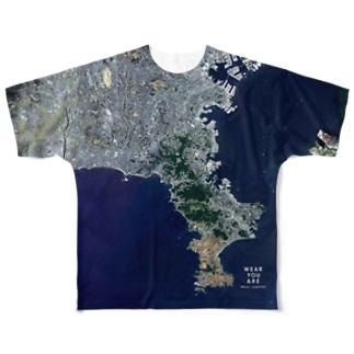 神奈川県 逗子市 Tシャツ 両面 Full graphic T-shirts