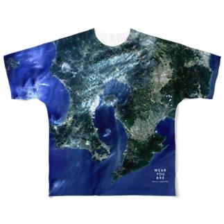 鹿児島県 垂水市 Tシャツ 両面 Full graphic T-shirts