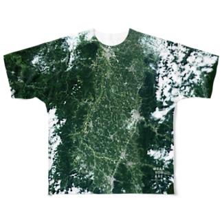 秋田県 横手市 Tシャツ 両面 Tシャツ 両面 Full graphic T-shirts
