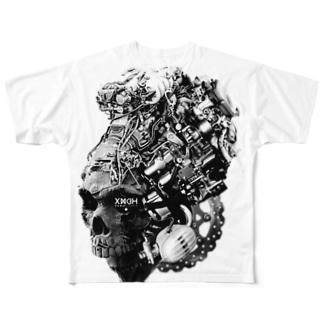 Deus ex machina  Full graphic T-shirts