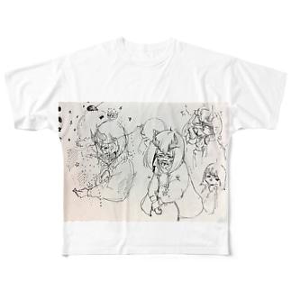 涙のソーダ Full graphic T-shirts