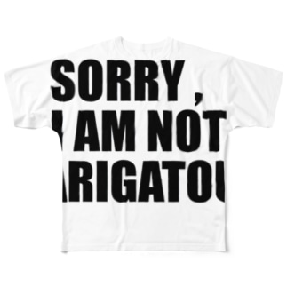 SORRY  Full graphic T-shirts
