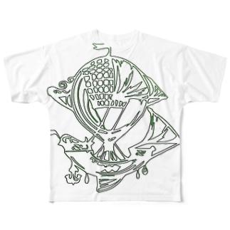 Voyage  airship Full graphic T-shirts