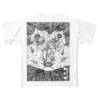 SEIMEI Full graphic T-shirts