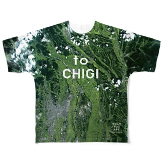 WEAR YOU AREの栃木県 塩谷郡 Tシャツ 両面 Full graphic T-shirts