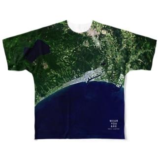北海道 苫小牧市 Tシャツ 両面 Full graphic T-shirts