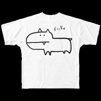 masaki🃏のイッヌ Full graphic T-shirts