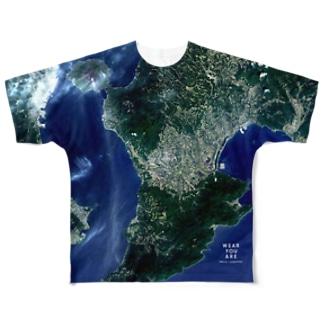 鹿児島県 鹿屋市 Tシャツ 両面 Full graphic T-shirts