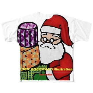 あなたの隣のサンタさん Full graphic T-shirts