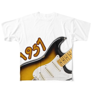 【1957】  Stratocaster Full graphic T-shirts