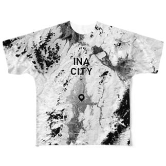 長野県 伊那市 Tシャツ 両面 Full graphic T-shirts