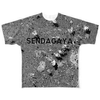東京都 新宿区 Tシャツ 両面 Full graphic T-shirts