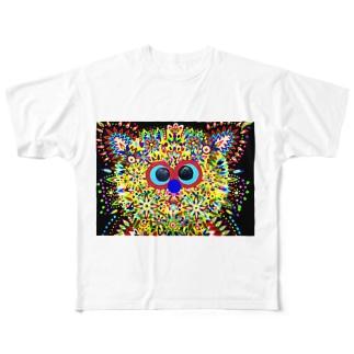 GAUDY CAT Full graphic T-shirts